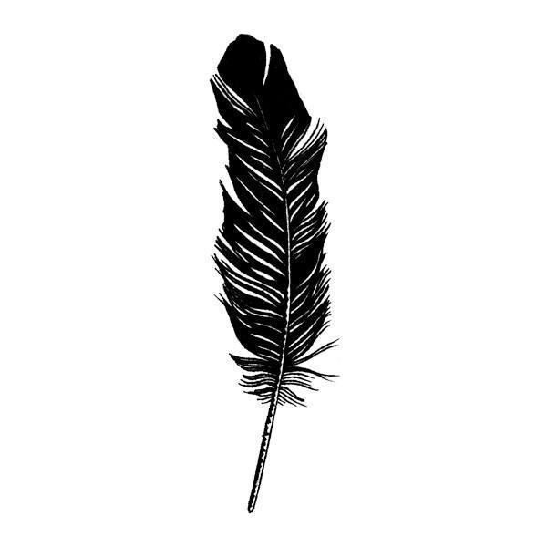 Feather Tattly Designy Temporary Tattoos Feather