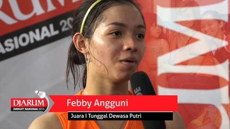 Febby Angguni Interview Febby Angguni Juara 1 Tunggal Dewasa Putri Djarum Sirnas