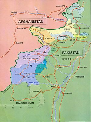 Federally Administered Tribal Areas Wikipedia