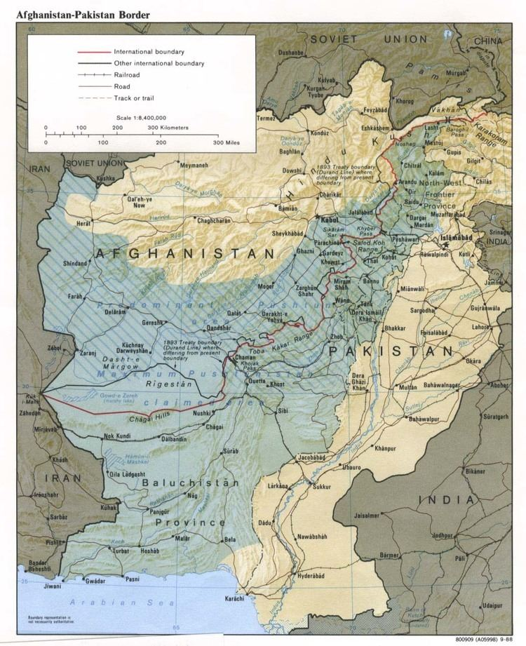 Federally Administered Tribal Areas in the past, History of Federally Administered Tribal Areas