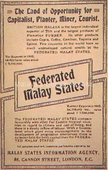 Federated Malay States Malaysia Design Archive Book Cover Guidebook to the Federated