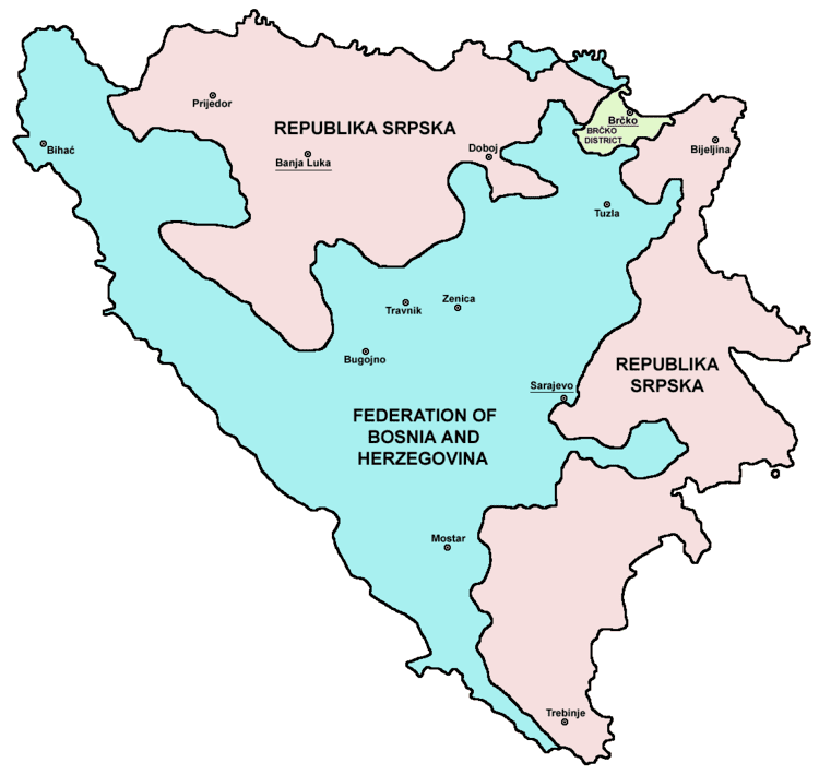 Federation of Bosnia and Herzegovina in the past, History of Federation of Bosnia and Herzegovina
