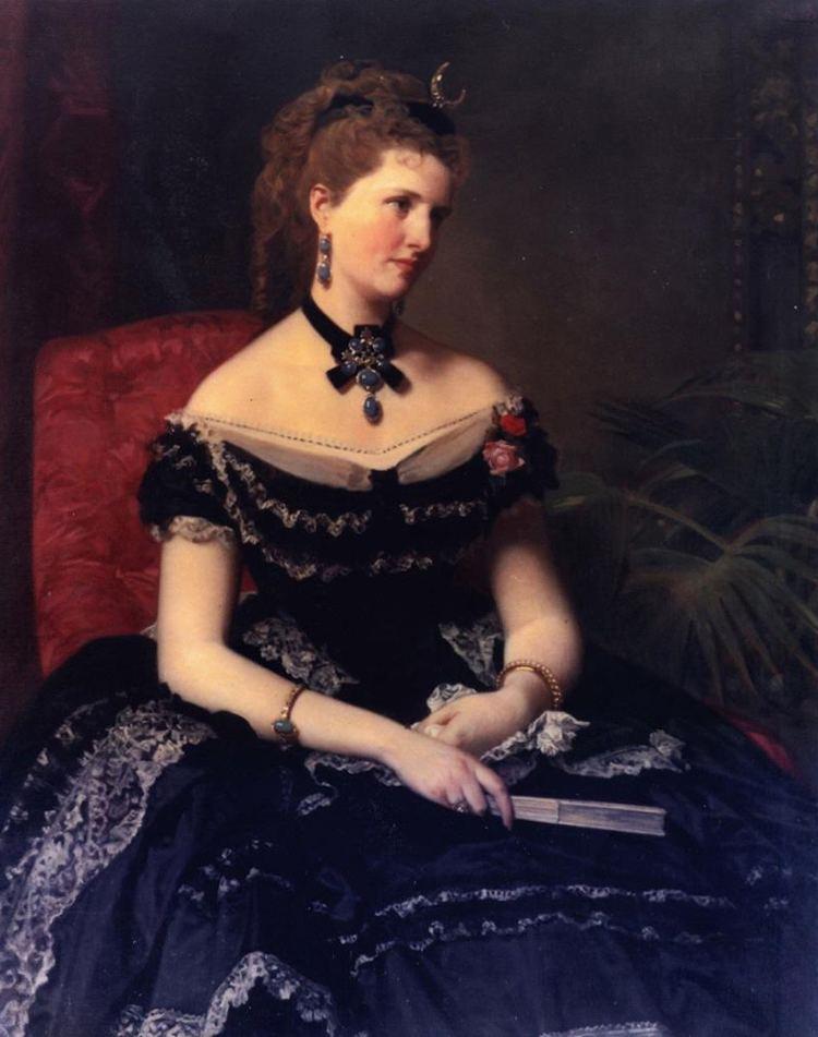 Federico de Madrazo 1873 Matilde de Aguilera y Gamboa seora de Fontagud by