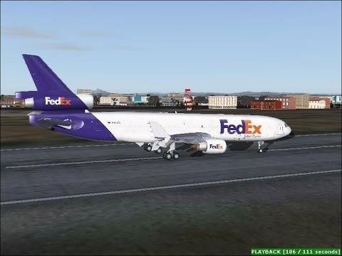 FedEx Express Flight 80 FS2004 The Final Push FedEx Express Flight 14 amp FedEx Express
