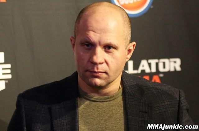 Fedor Emelianenko Fedor Emelianenko on female fighters 39MMA is for men