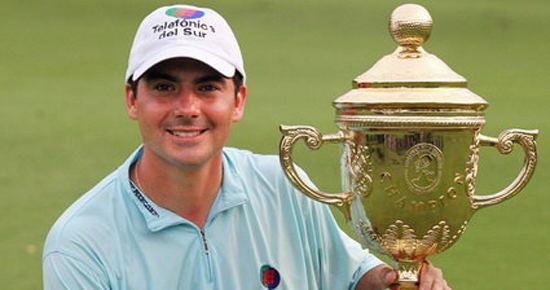 Felipe Aguilar Chilean golfer Felipe Aguilar makes history in European