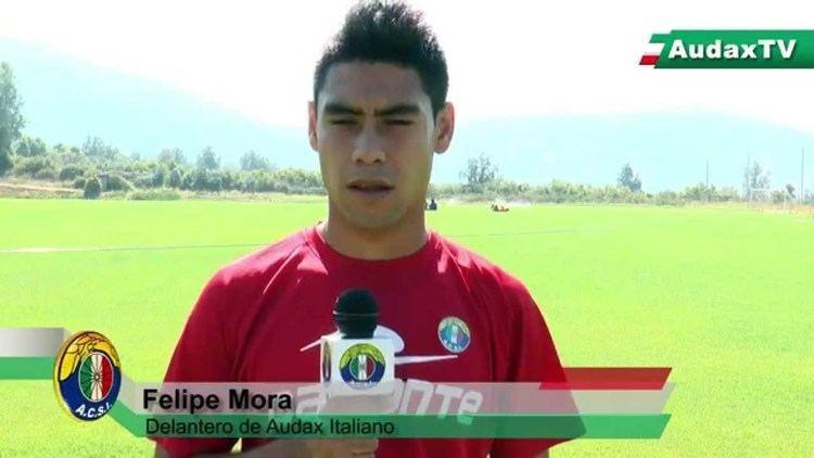 Felipe Mora Felipe Mora Escuela de Ftbol Audax Italiano 2015 YouTube