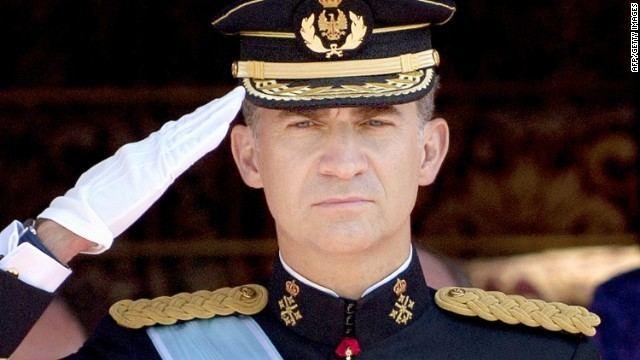 Felipe VI of Spain King Felipe VI takes over in Spain after father39s