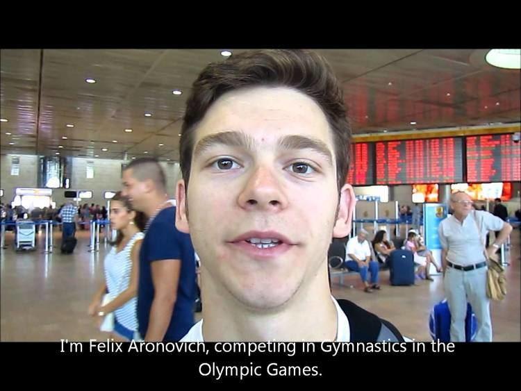 Felix Aronovich Olympic gymnast Felix Aronovich tells the world that