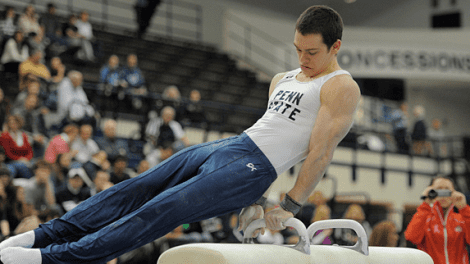 Felix Aronovich Meet Team Israel Gymnast Felix Aronovich Going for the