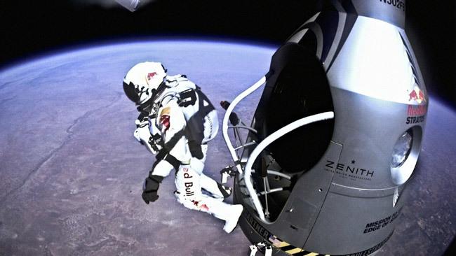 Felix Baumgartner Take a look inside Felix Baumgartner39s space capsule