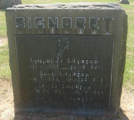Felix Signoret Felix Signoret 1825 1878 Find A Grave Memorial