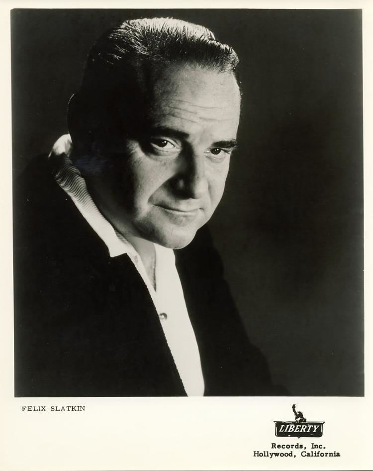 Felix Slatkin FELIX SLATKIN Violinist Conductor Arranger