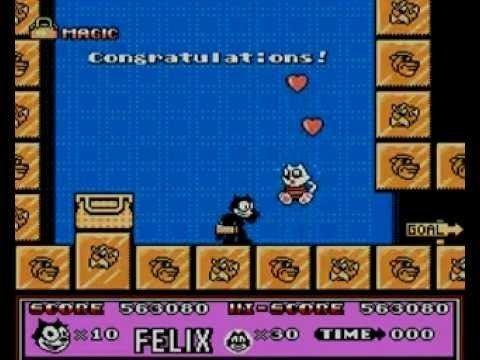 Felix the Cat (video game) Felix the Cat Last Boss and Game Ending Nintendo NES YouTube