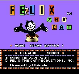 Felix the Cat (video game) Felix the Cat USA ROM lt NES ROMs Emuparadise