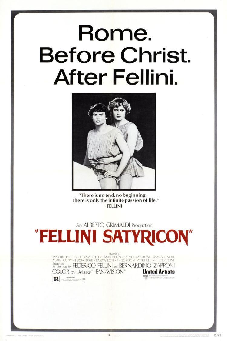 Fellini Satyricon wwwgstaticcomtvthumbmovieposters5905p5905p