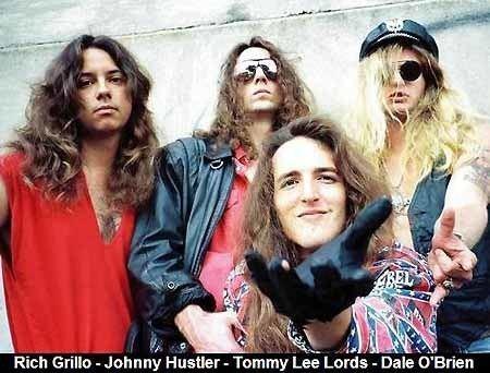 Felony (band) wwwheavyharmoniescombandpicsFELONYBANDJPG