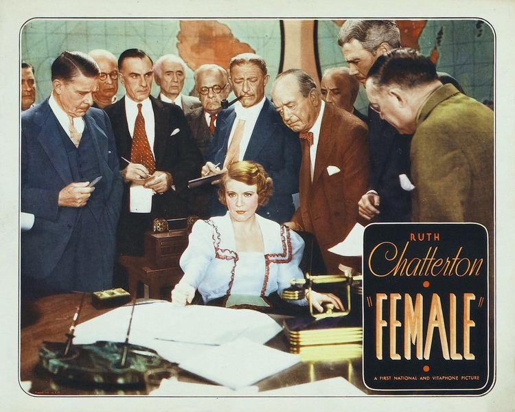 Female (1933 film) Female 1933 The Motion Pictures