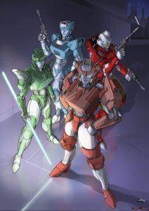 Female Autobots httpsuploadwikimediaorgwikipediaendd1Fem