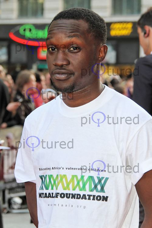 Femi Oyeniran Ill Manors World Film Premiere Celebrity and red