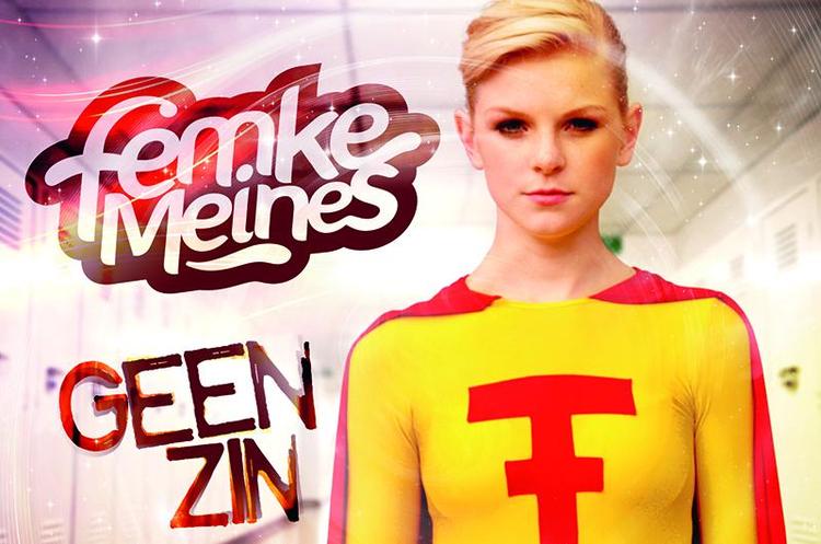 Femke Meines Femke Meines becomes a superhero in Geen Zin