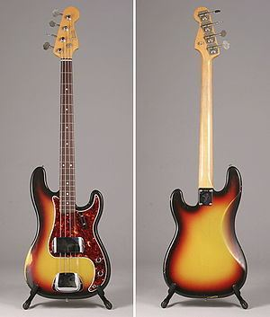 Fender Precision Bass Fender Precision Bass Wikipedia