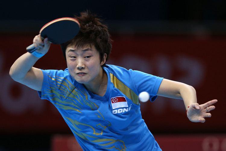 Feng Tianwei World Table Tennis Championships Feng Tianwei wins all