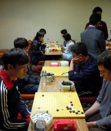 Feng Yun (Go player) Kwon Kapyong 8P Lee Sedols Teacher Visits Feng Yun Go School