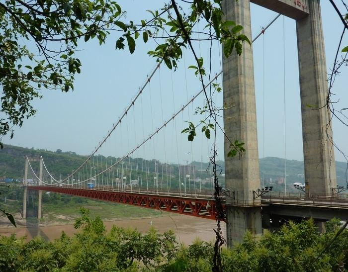 Fengdu Yangtze River Bridge