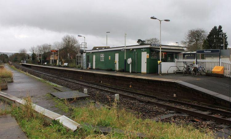 Feniton railway station