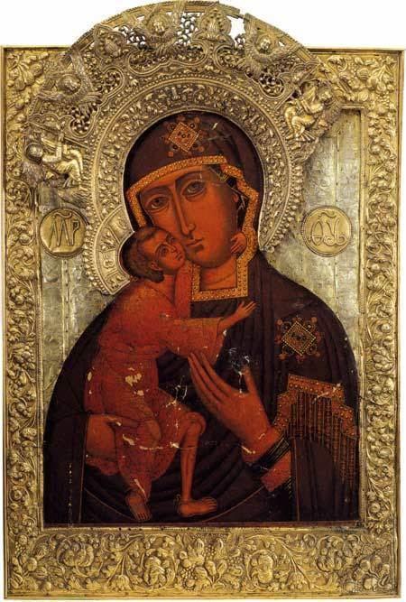 Feodorovskaya Icon of the Mother of God wwwalexanderpalaceorgpalacepicsbigsilvertheojpg