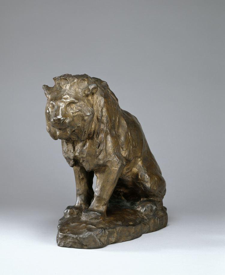Ferdinand Barbedienne FileFerdinand Barbedienne Sketch for Seated Lion