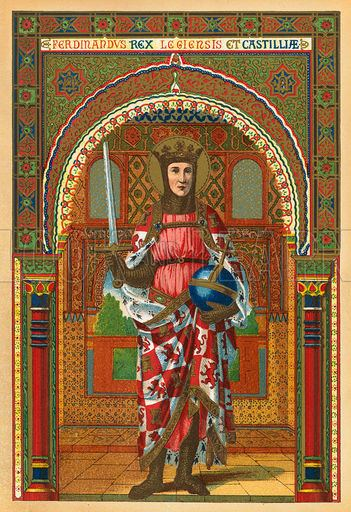 Ferdinand III of Castile Historical articles and illustrations Blog Archive