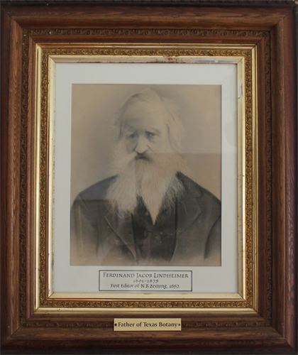 Ferdinand Lindheimer A Visit to the Home of Lindheimer Father of Texas Botany Great Stems
