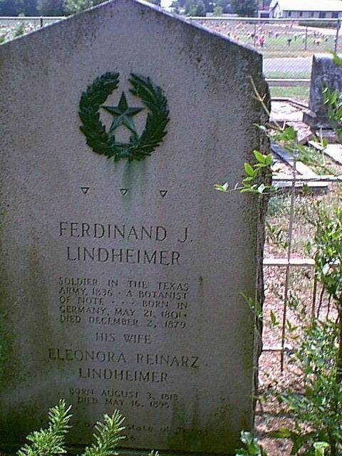 Ferdinand Lindheimer LINDHEIMER FERDINAND JACOB The Handbook of Texas Online Texas