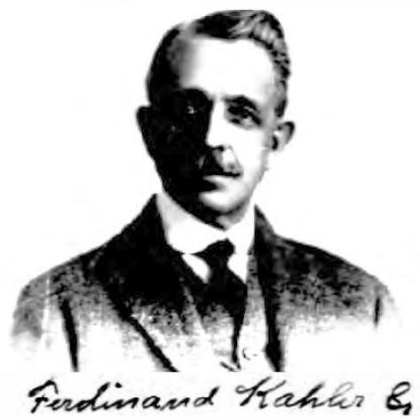 Ferdinand N. Kahler