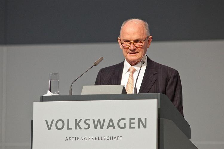 Ferdinand Piëch Volkswagen Group Chairman Ferdinand Piech Resigns GTspirit