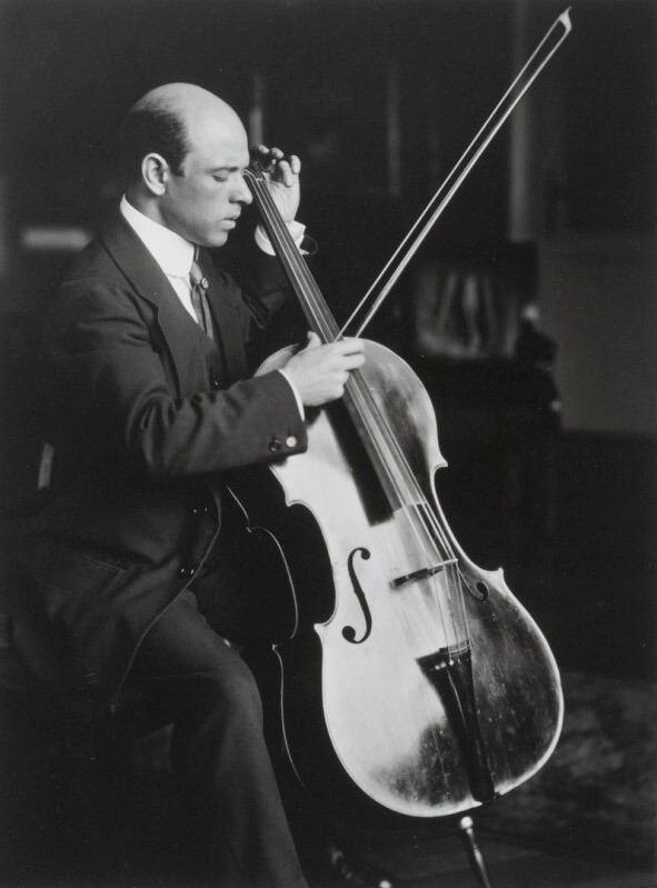 Ferdinand Schmutzer T for tout Pablo Casals Vienna 1914 by Ferdinand