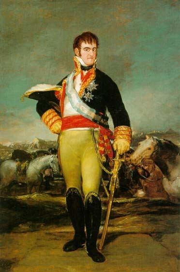 Ferdinand VII of Spain KingFerdinandVIIofSpainca1814jpg
