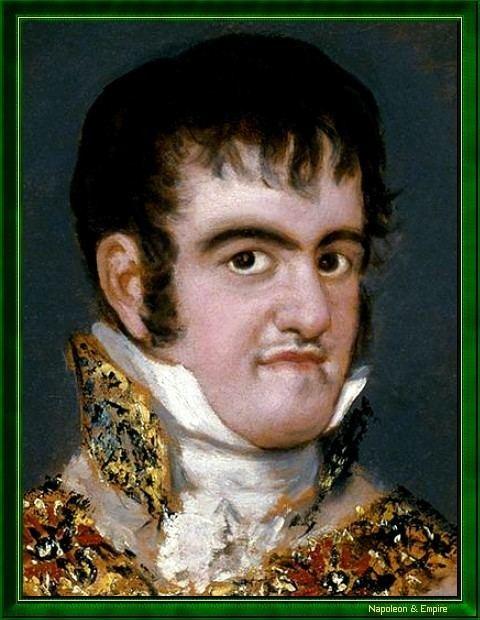Ferdinand VII of Spain Ferdinand VII King of Spain Picture Napoleon amp Empire