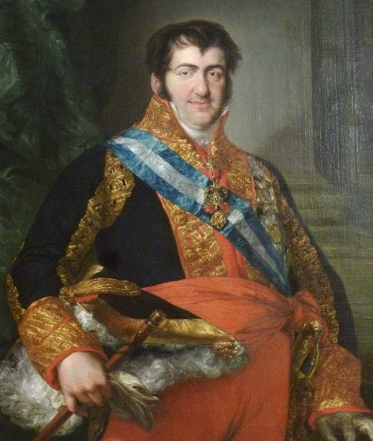 Ferdinand VII of Spain FileFernando VII by Lpezjpg Wikimedia Commons