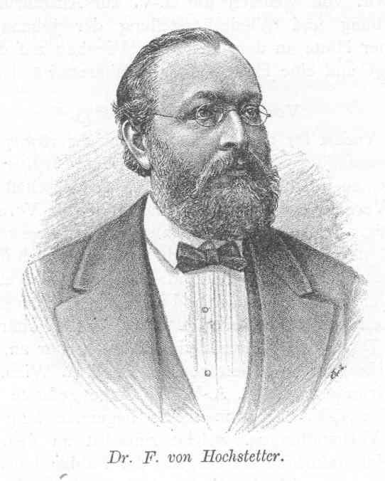Ferdinand von Hochstetter Ferdinand von Hochstetter Wikipdia a enciclopdia livre