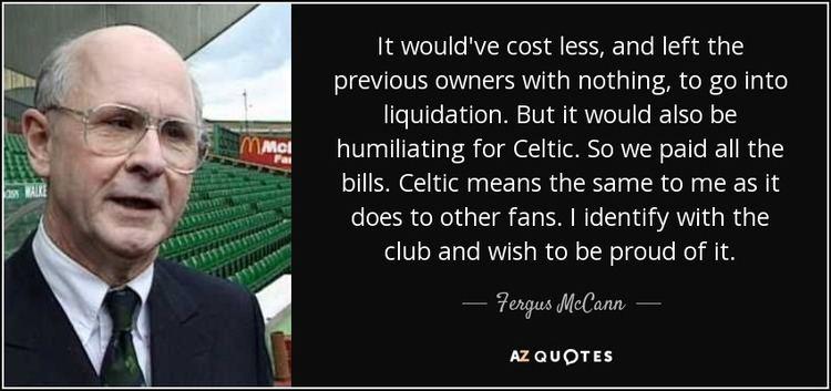 Fergus McCann TOP 13 QUOTES BY FERGUS MCCANN AZ Quotes