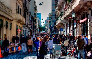 Feria de San Telmo Feria de San Telmo plaza Dorrego horarios como llegar