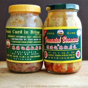 Fermented bean curd Long Beans With Fermented Bean Curd Chow Vegan