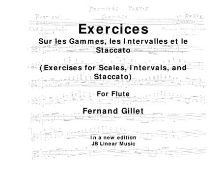 Fernand Gillet Download Fernand Gillet Exercises For Scales Intervals And