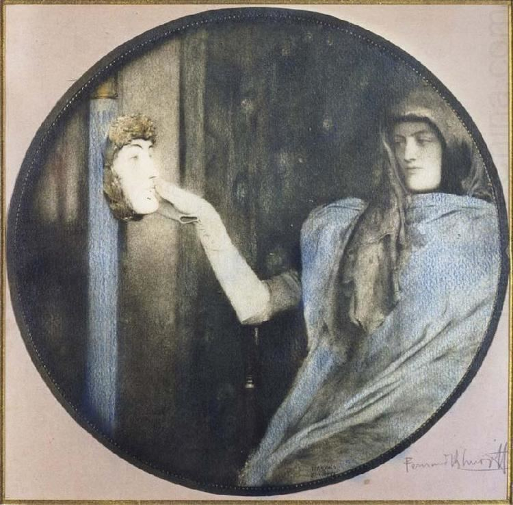 Fernand Khnopff All Fernand Khnopff39s Oil Paintings INDEX Wholesale