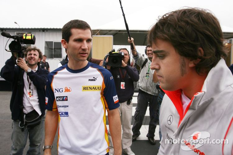 Fernando Alonso (engineer) Fernando Alonso McLaren Mercedes Remi Taffin Race Engineer at