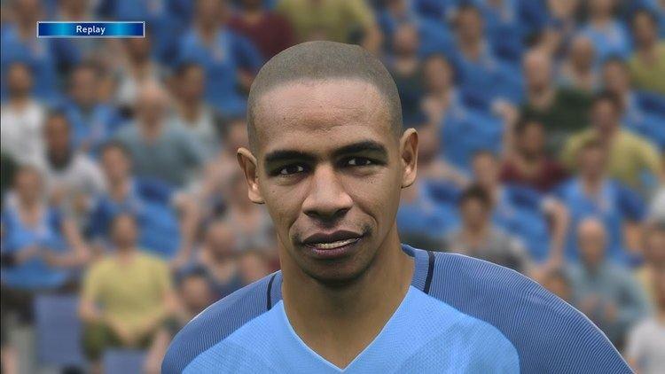 Fernando (footballer, born 1987) FERNANDO MANCHESTER CITY FACE PES2016 YouTube