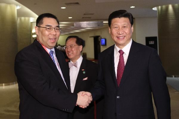 Fernando Chui MACAU CHINA Macau39s Fernando Chui reelected uncontested